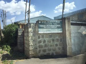 Abbay Food plant in Ethiopia